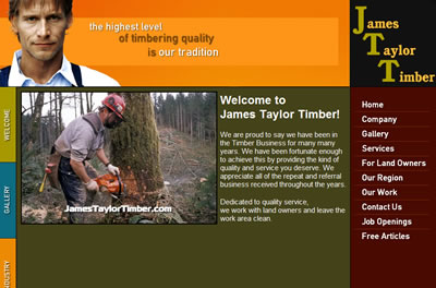 james taylor timber east texas logging company